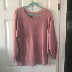 Lightweight pink sweater